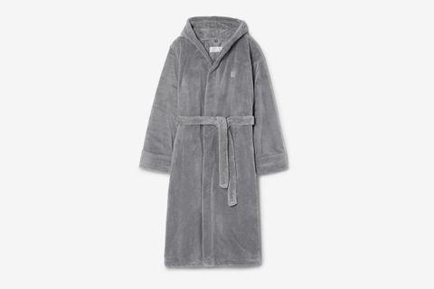 Fleece Hooded Robe