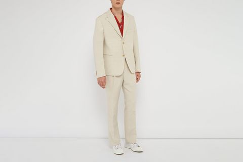Linen suits summer main jacquemus mr porter thom brown