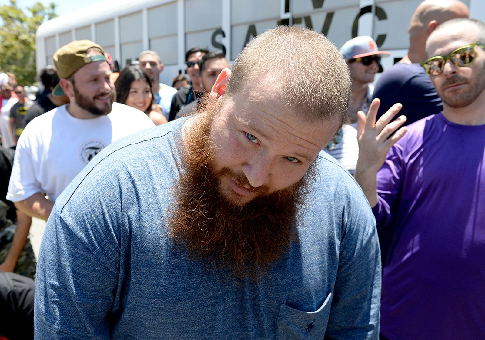 action bronson shaved beard