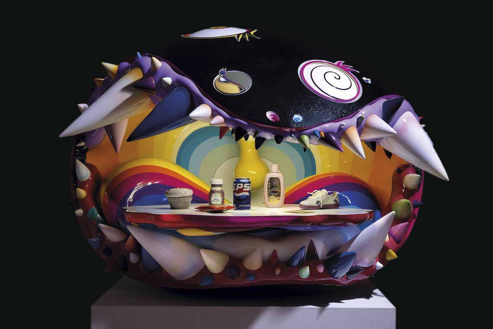 Takashi Murakami Pharrell Williams Sculpture