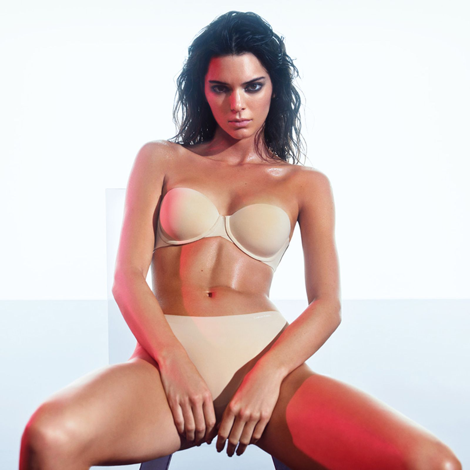 """Kendall Jenner Calvin Klein """"DEAL WITH IT"""" Campaign"""