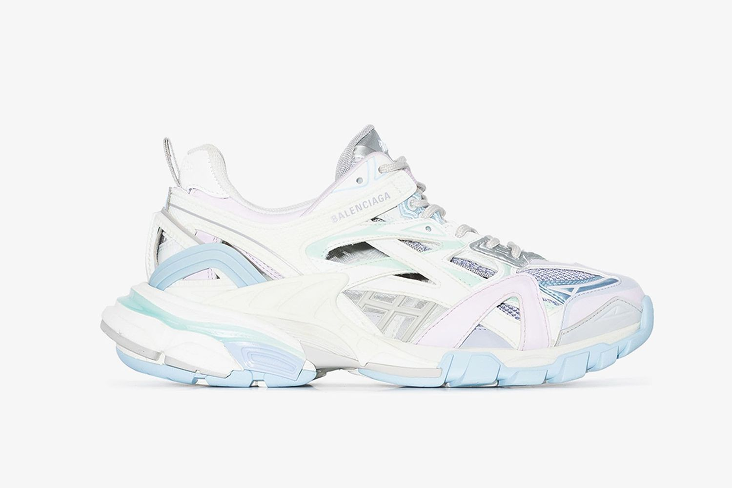 White Track 2 Sneakers