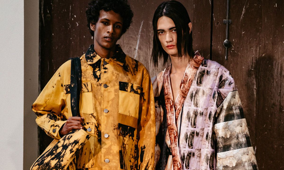 Artist Sterling Ruby Debuts Stellar Fashion Collection at Pitti Uomo