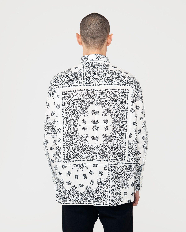Miyagihidetaka — Bandana Shirt White - Image 5