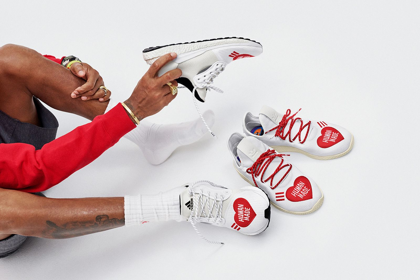 adidas originals pharrell human race nigo human made Pharrell Williams