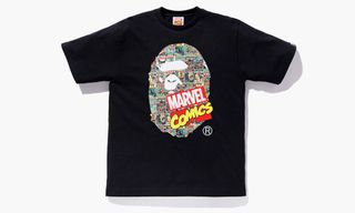Baby Milo & Iron Man Link Up for BAPE x Marvel T-Shirt Collection