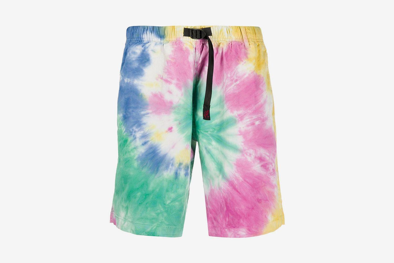 Tie-Dye Track Shorts