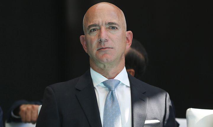 Jeff Bezos suit and tie