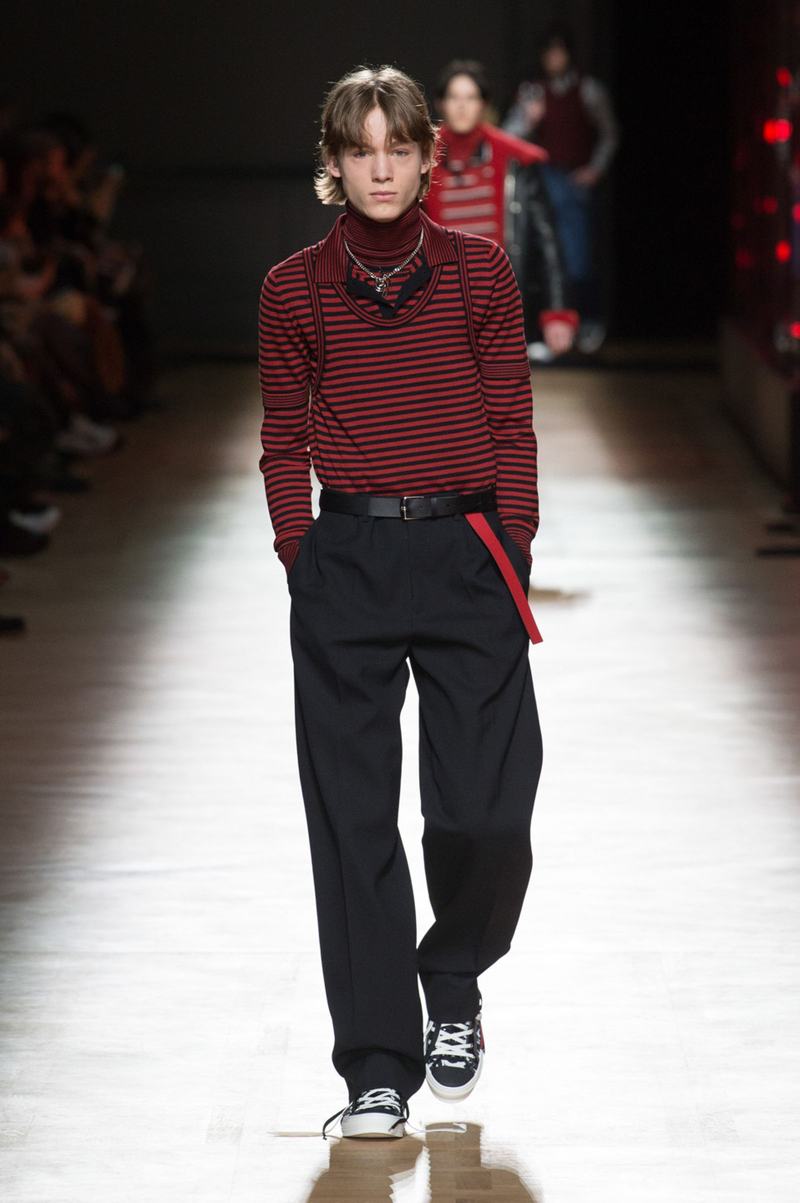 DIOR HOMME WINTER 18 19 BY PATRICE STABLE look18 Fall/WInter 2018 runway