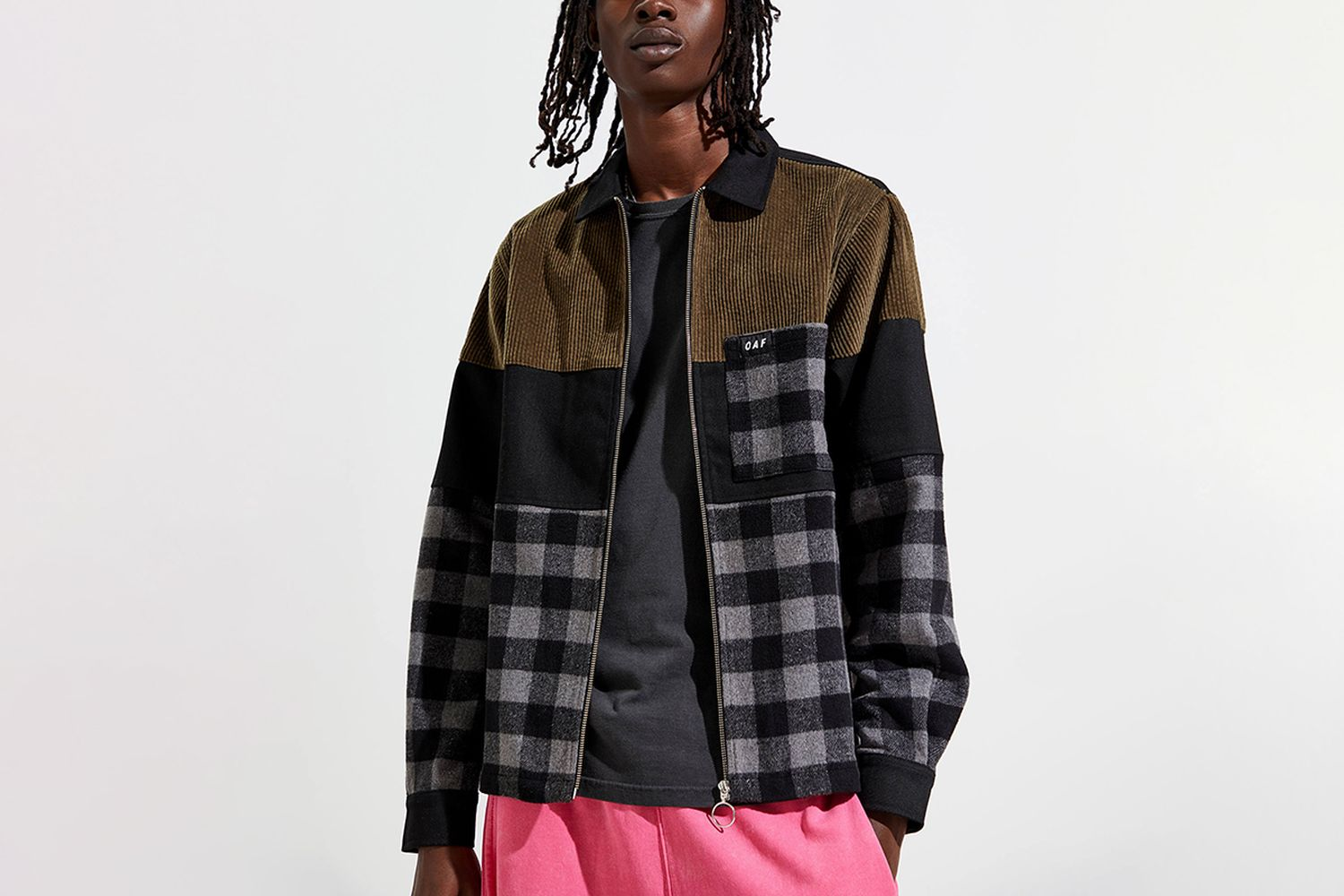 Patched Up Shirt Jacket