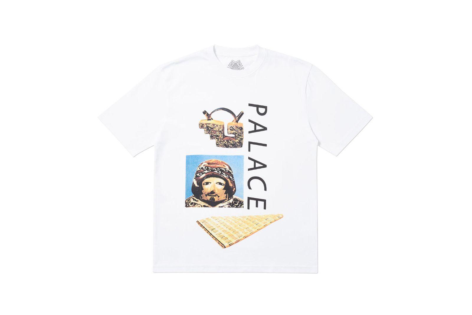Palace 2019 Autumn T Shirt Tactic white