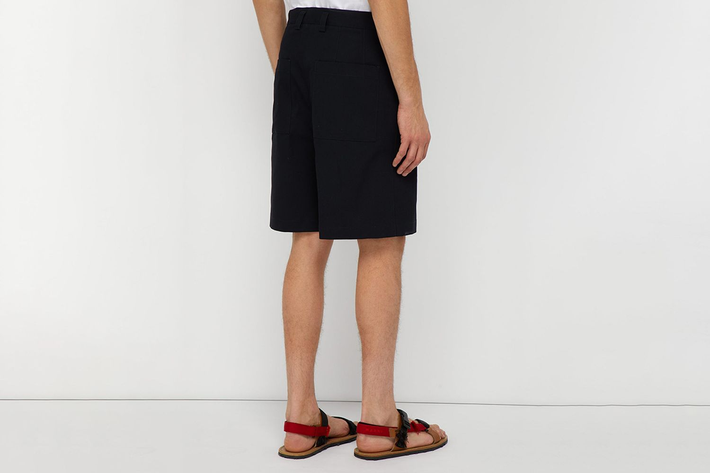 Sebastian Mid-Rise Cotton-Blend Shorts