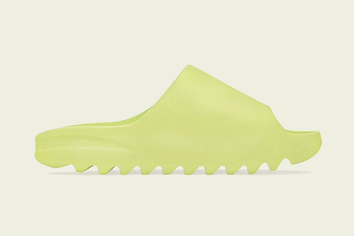 """Your Favorite adidas YEEZY SLIDE is Getting a """"Green Glow"""" Makeover"""