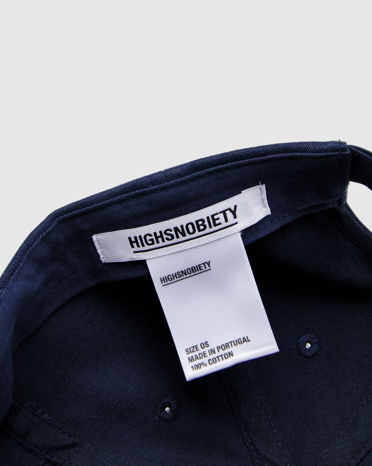 Highsnobiety Staples - Cap Navy - Image 3