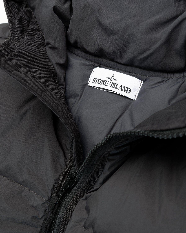 Stone Island – Real Down Jacket Charcoal - Image 5