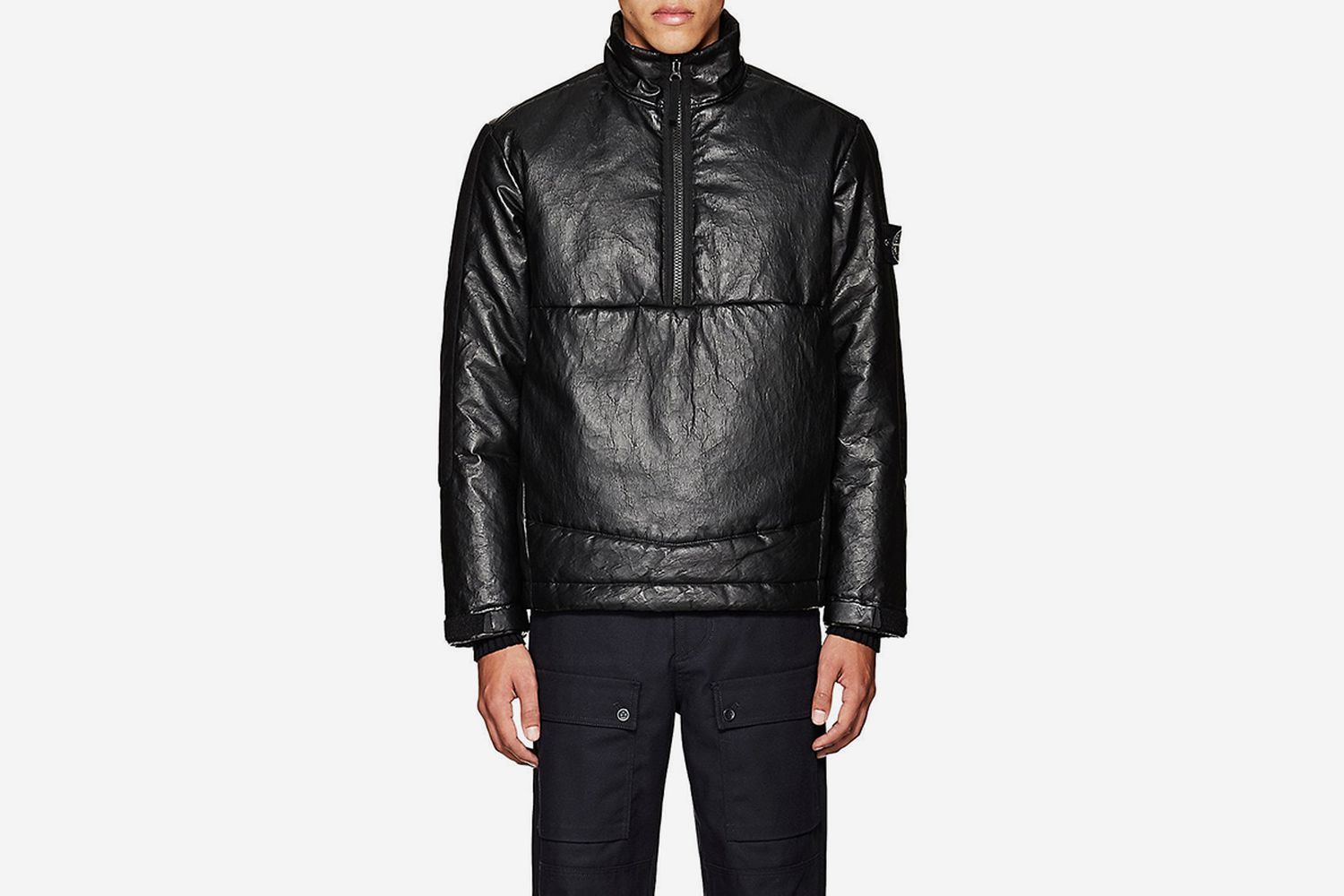 Insulated Leather Coat