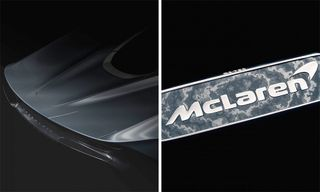 McLaren Teases $2 Million Speedtail Hyper-GT With 18-Karat-White Gold Badge