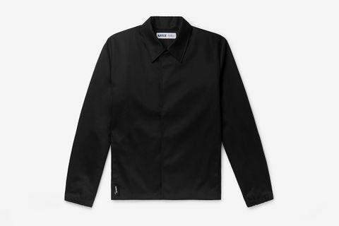 Logo-Print Cotton-Blend Twill Jacket