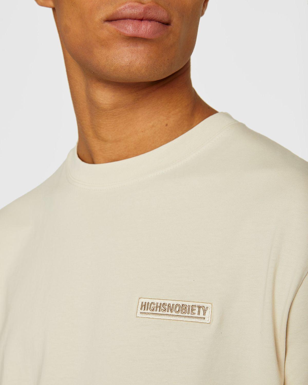 Highsnobiety Staples — T-Shirt Eggshell - Image 5