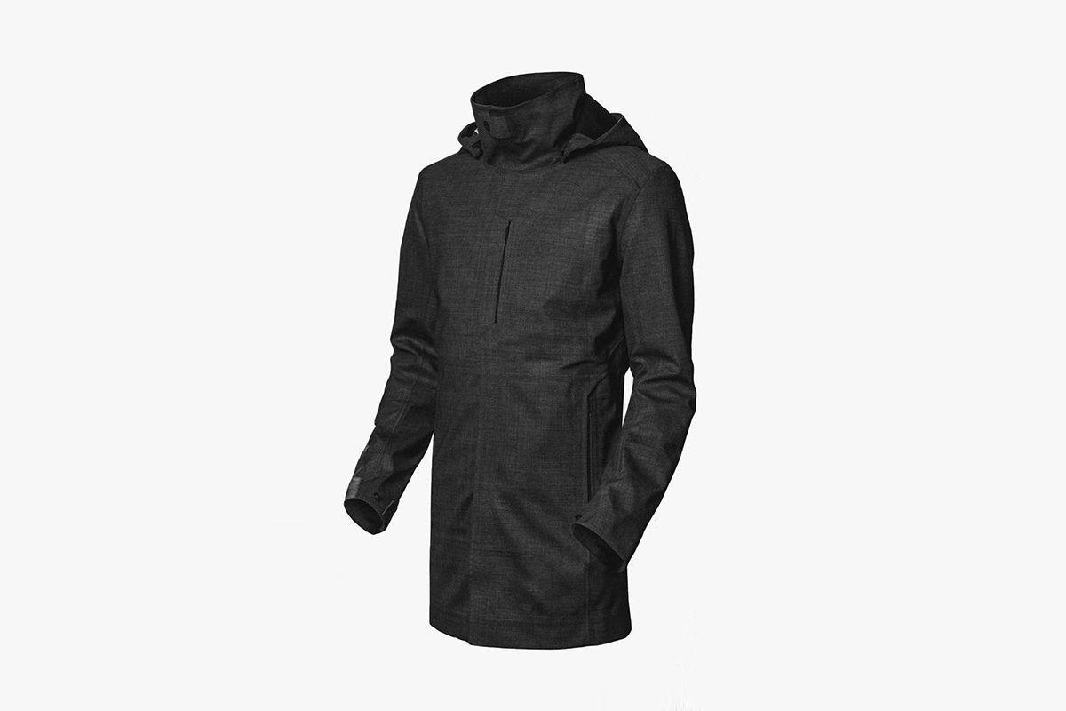 Waterproof Topcoat