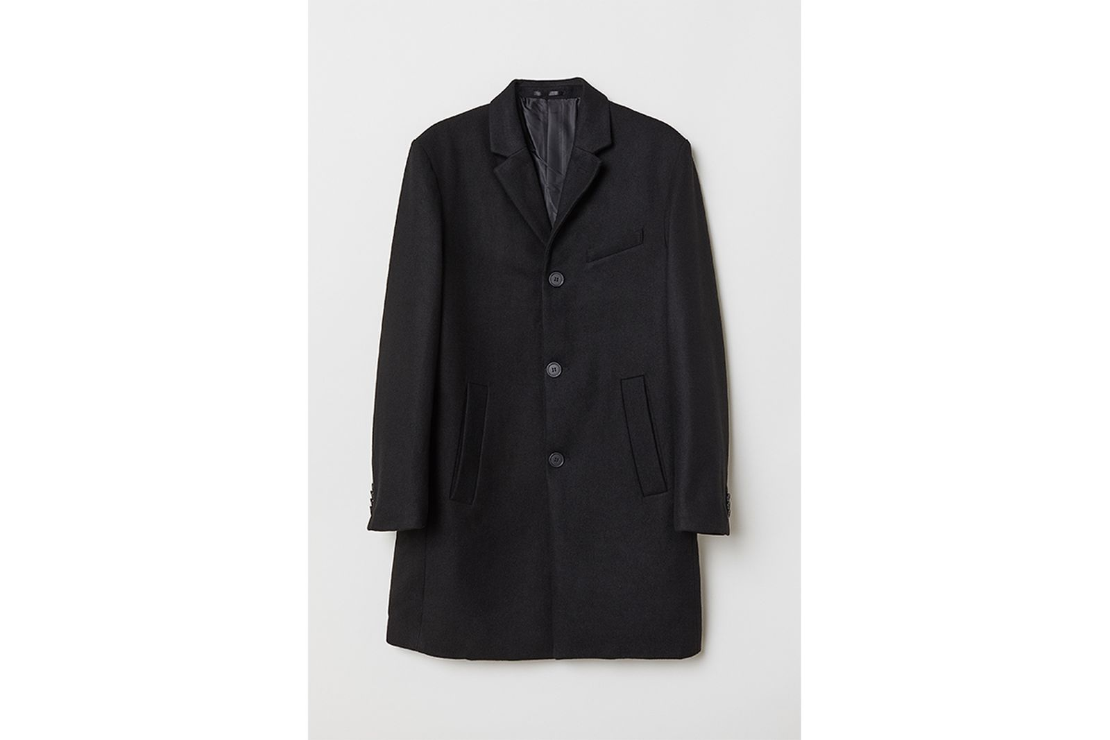 HM Wool Blend Coat Gift Guide h&m holiday