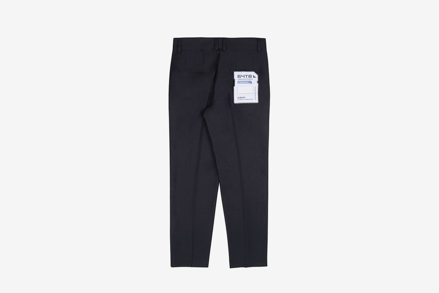 """FM-2030"" Company Logo Tailor Trousers"