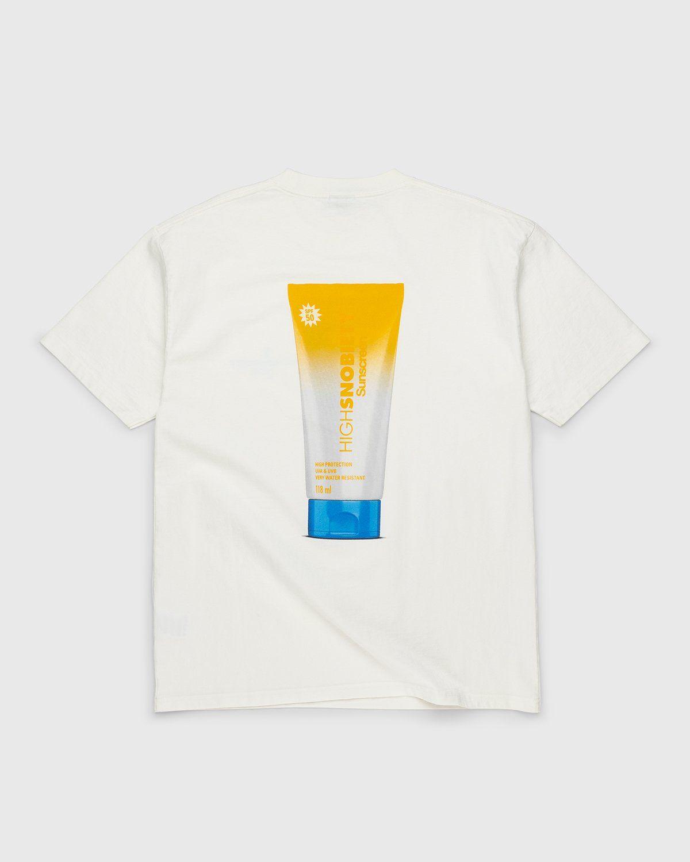 Highsnobiety – Sunscreen T-Shirt White - Image 1