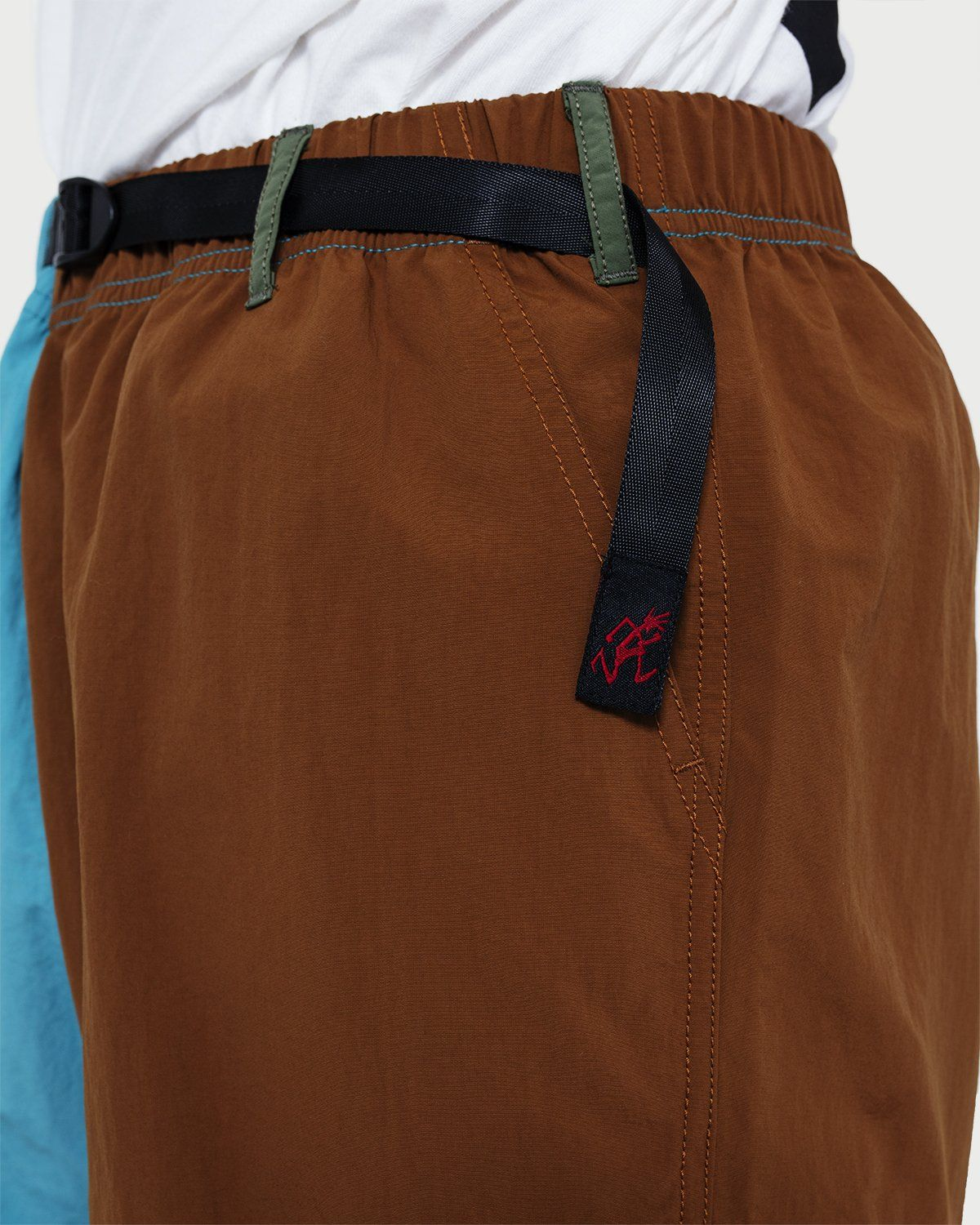 Gramicci - Shell Packable Shorts Aqua/Mocha - Image 2
