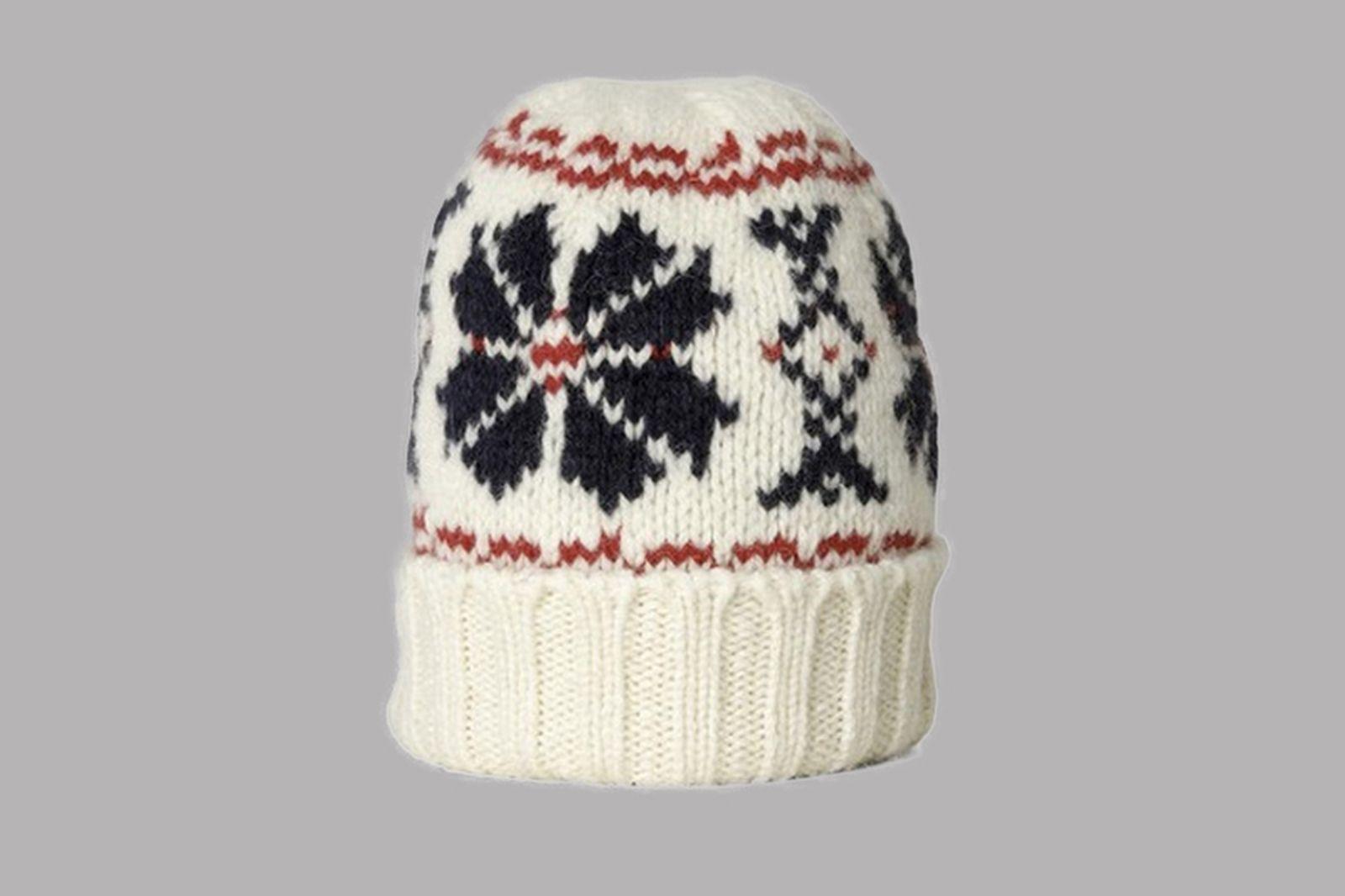 nigel-cabourn-snowflake-beanie