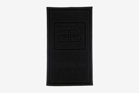 Sponge Embossed Bb Logo Beach Towel