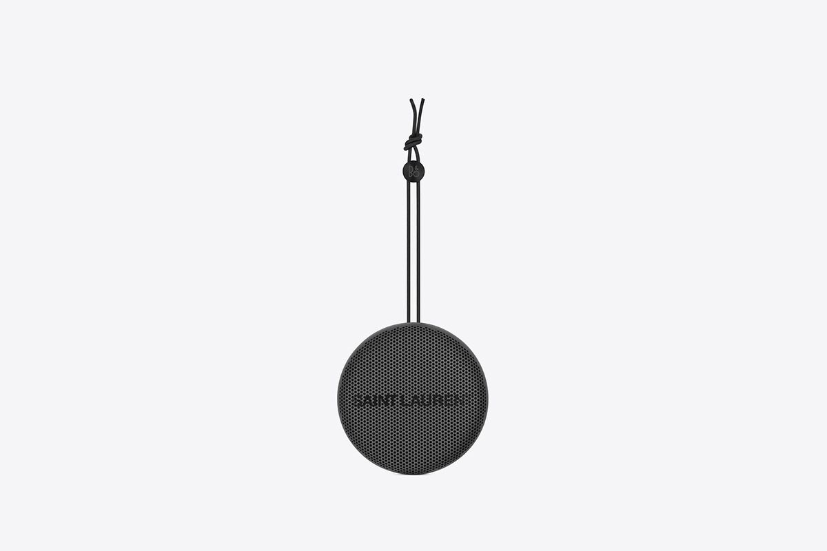 Saint Laurent and Bang & Olufsen Launch All-Black Speaker Collection