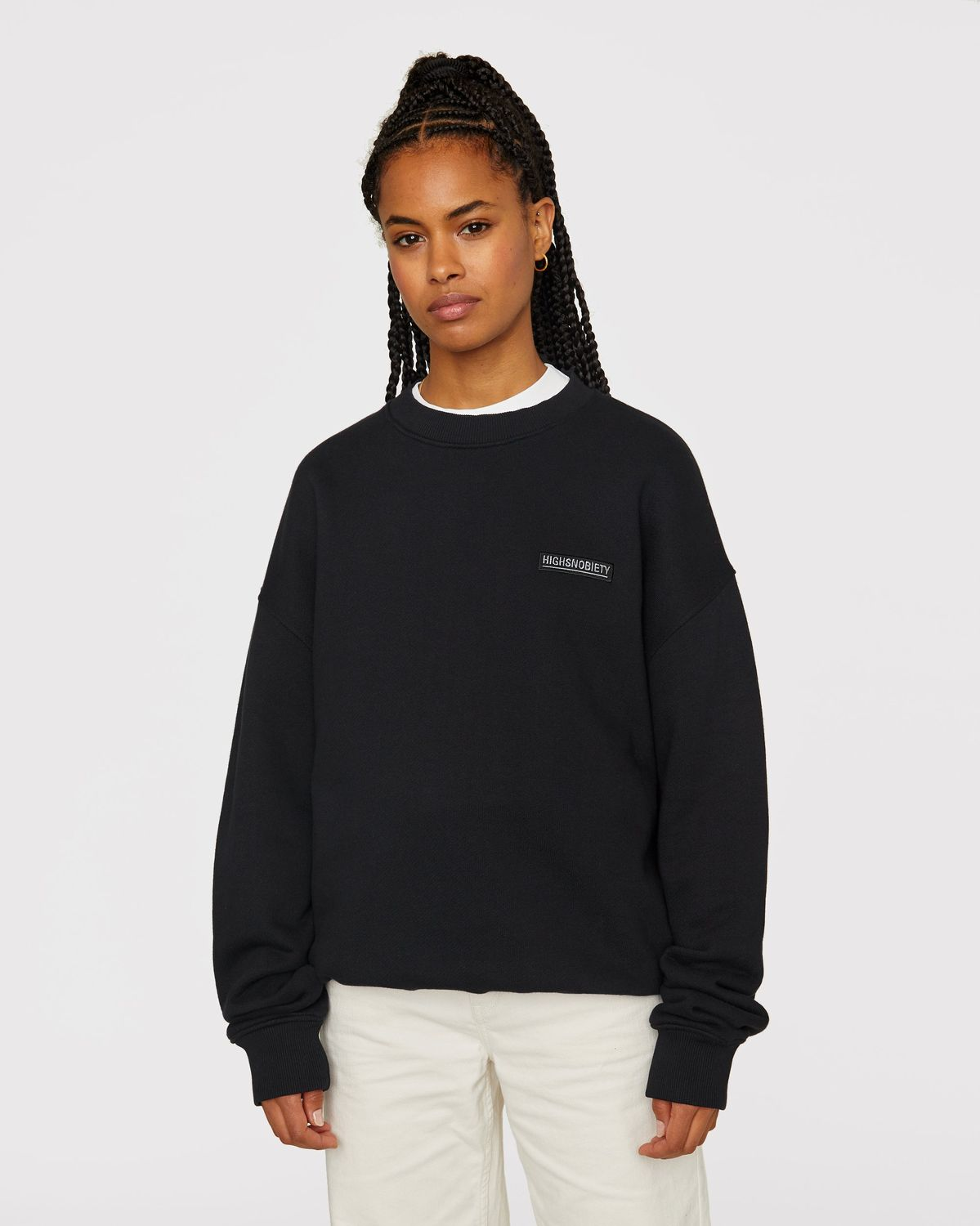 Highsnobiety Staples - Sweatshirt Black - Image 6