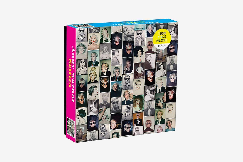 Andy Warhol Selfies Puzzle