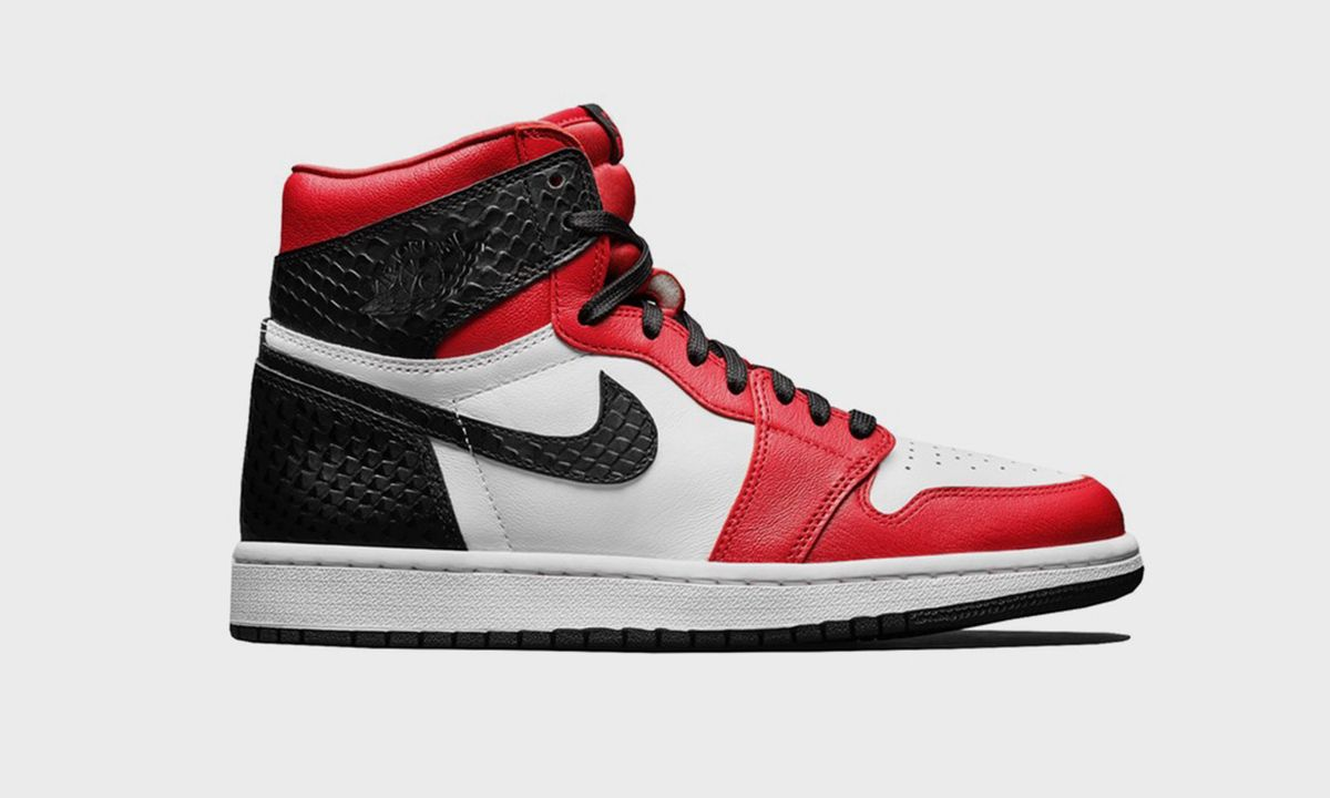 """Shop the Nike Air Jordan 1 """"Satin Snake"""" Today"""