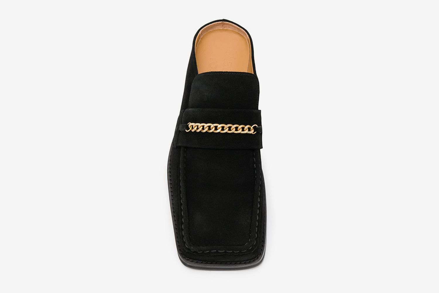 Chain Link Slip-On Loafers