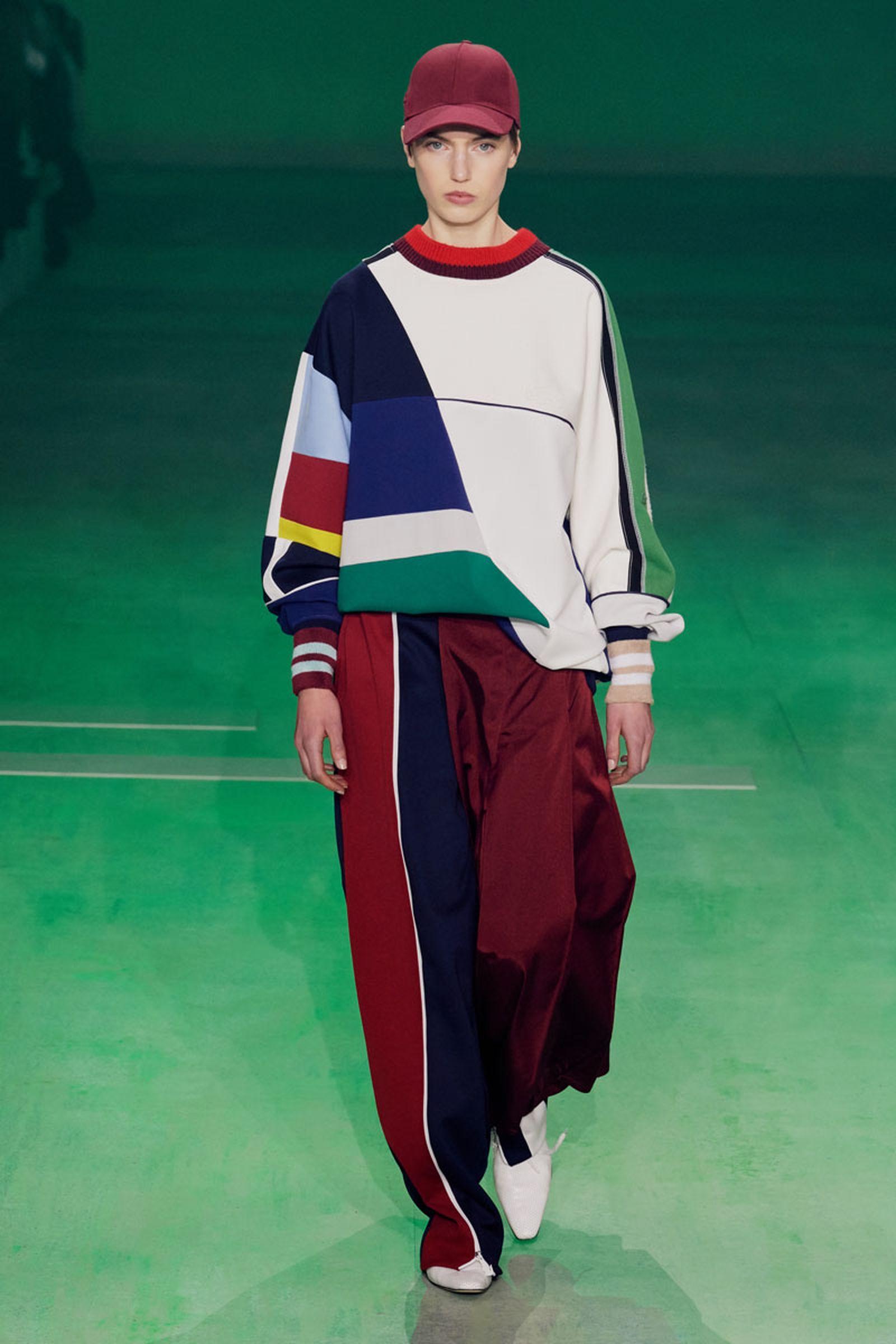63lascoste fw19 paris fashion week Louise Trotter lacoste runway