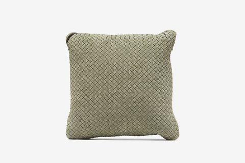Intrecciato Suede Cushion
