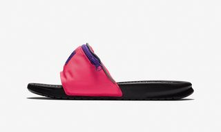 """You Can Still Cop a Pair of Nike's Benassi JDI """"Fanny Pack"""" Slides"""