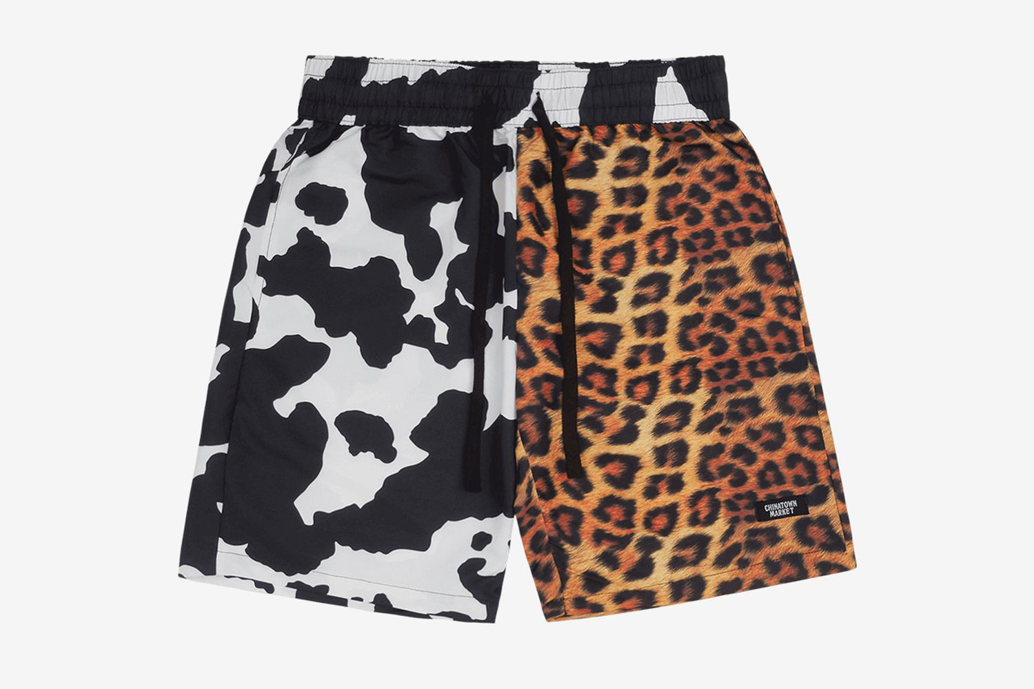 All Over Animal Print Shorts