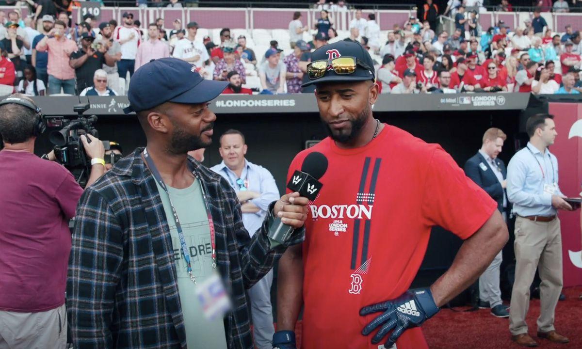6153e46e0 Ball Boyz: Here's What Went Down at MLB London Series