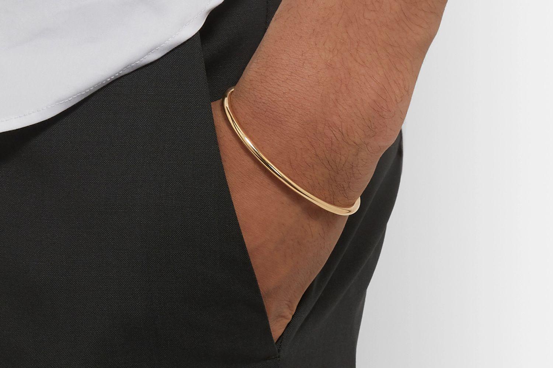 Le 17 18-Karat Gold Cuff