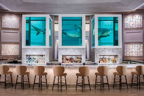 insane creative process behind worlds expensive hotel room main Tal Cooperman damien hirst the palms