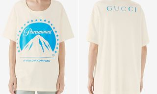 Gucci's Paramount Pictures Tee Is One for the Movie Buffs