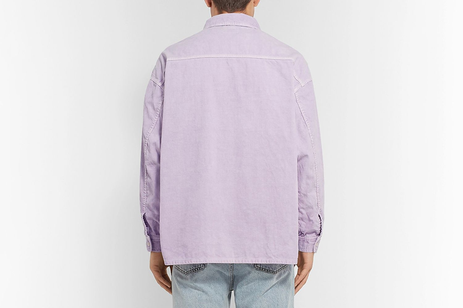 Oversized Cotton-Corduroy Shirt Jacket