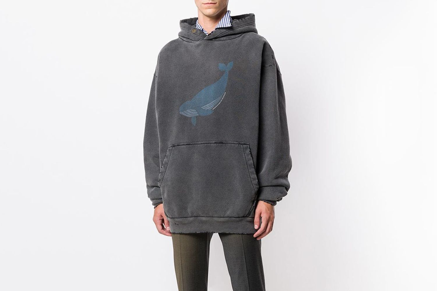 Oversized Whale Hoodie