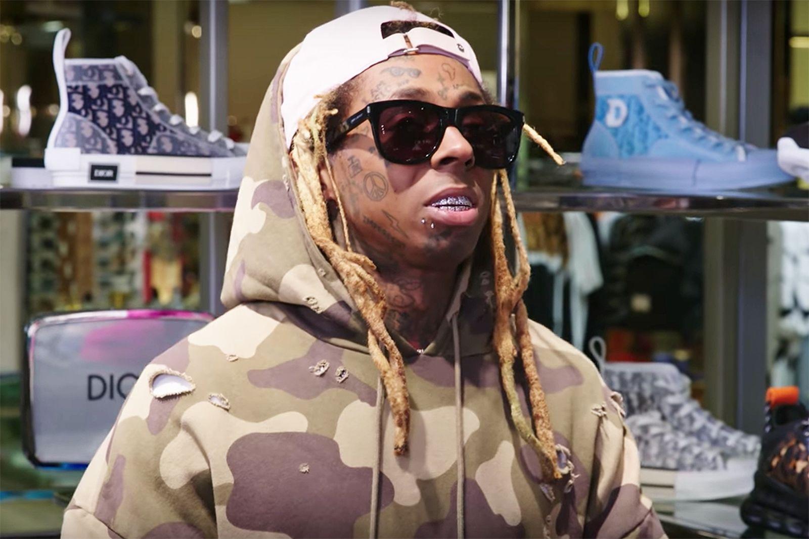 Lil Wayne Sneaker Shopping