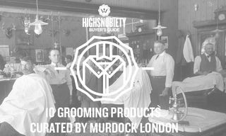 Buyer's Guide: 10 Grooming Products Curated by Barbers Murdock London