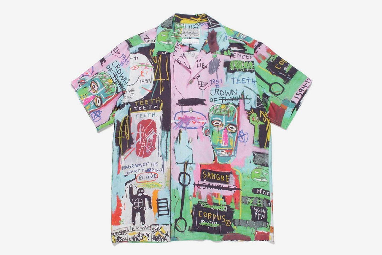 Jean-Michel Basquiat Hawaiian Shirt