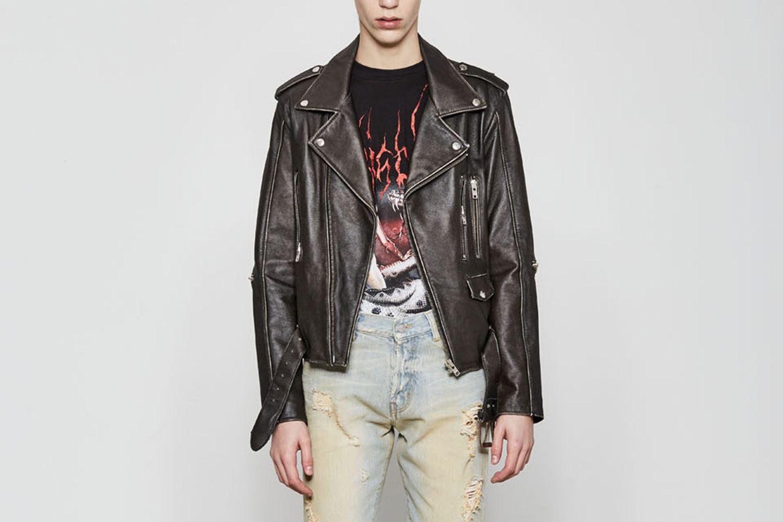 Desire Leather Biker Jacket