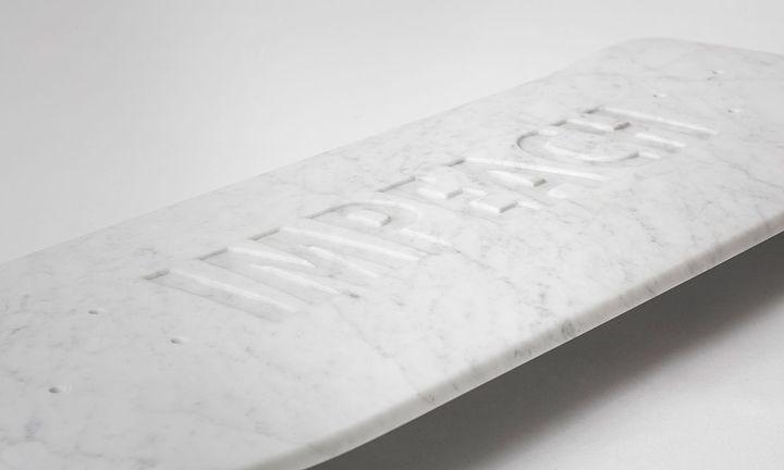 the skateroom x Jenny holzer board